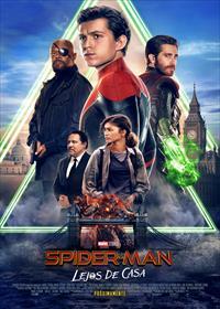 Portada de Spider-Man: Lejos de casa