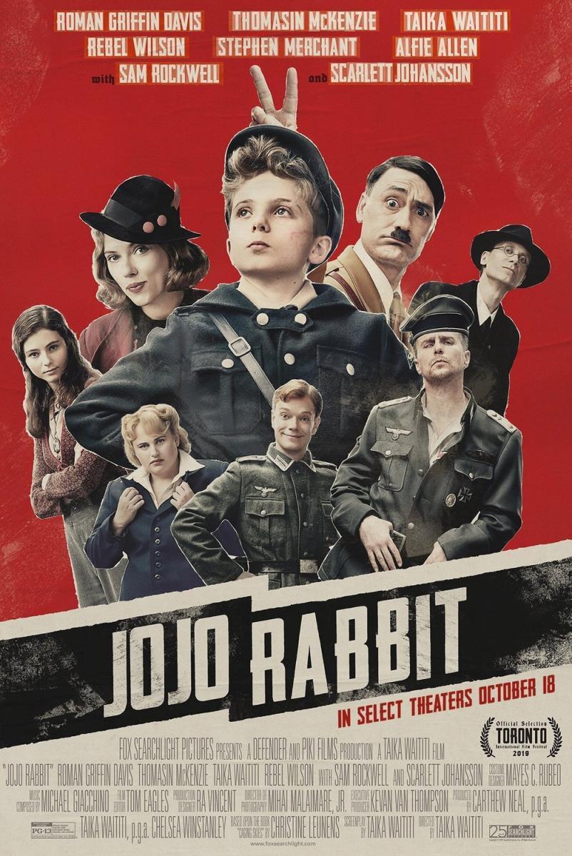 Portada de Jojo Rabbit