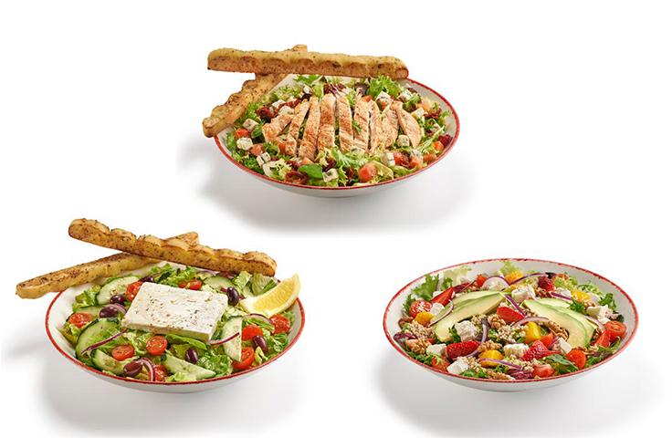 comida sana ensaladas vips