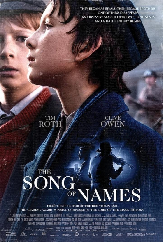 Portada de La canción de los nombres olvidados