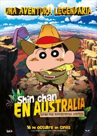 Portada de Shin chan en Australia. Tras las esmeraldas verdes