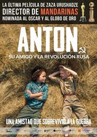 Portada de Anton, su amigo y la revolución rusa