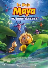 Portada de La Abeja Maya y el Orbe dorado