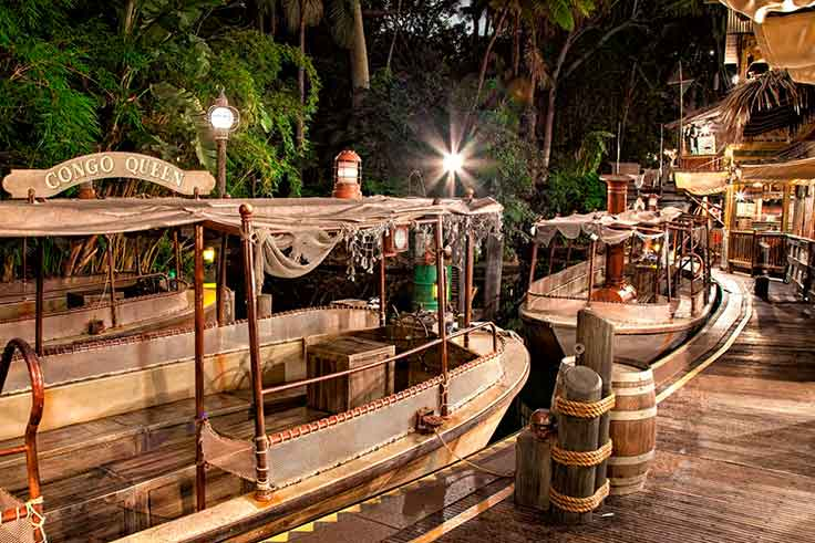 jungle cruise atracción